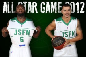 Chris Warren et Xavier Corosine au ALL STAR GAME 2012