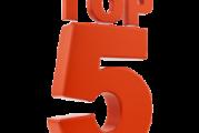 Top5 du mois de novembre