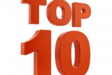 Top10 du mois d'octobre
