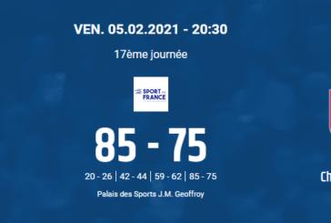 JDA Dijon 85-75 Châlon-sur-Saône