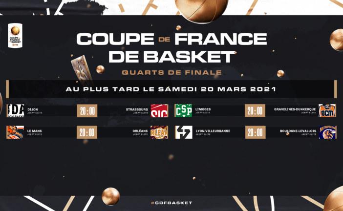 Quarts Coupe de France 2021